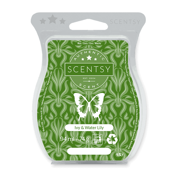 IVY & WATER LILY SCENTSY WAX BAR