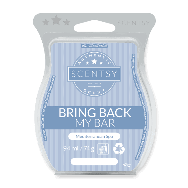 MEDITERRANEAN SPA SCENTSY WAX BAR