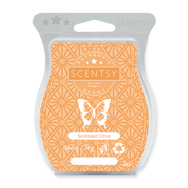 SUNKISSED CITRUS SCENTSY WAX BAR