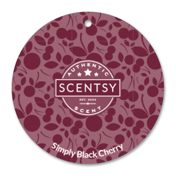 SIMPLY BLACK CHERRY SCENTSY SCENT CIRCLE