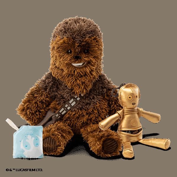 Chewbacca™ - Scentsy Buddy + C3PO™- Scentsy Buddy Clip Bundle