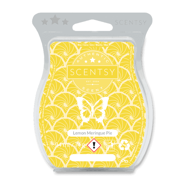 LEMON MERINGUE PIE SCENTSY WAX BAR