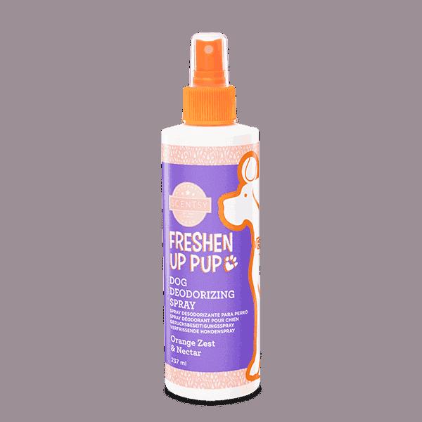 SCENTSY DOG DEODERISING SPRAY - Orange Zest & Nectar Freshen Up Pup Dog Deodorizing Spray