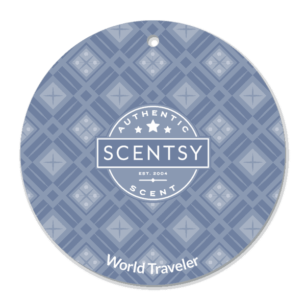 WORLD TRAVELLER SCENTSY SCENT CIRCLE