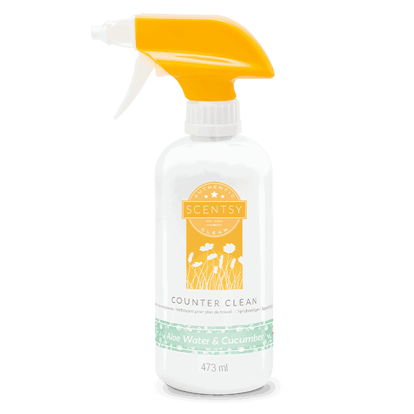 Aloewater Cucumber Scentsy Counter Clean