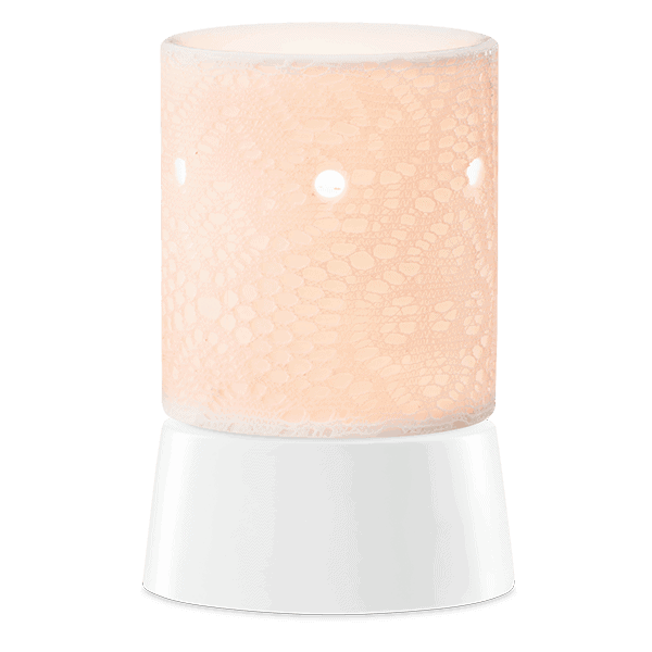 Lace Mini Tabletop Scentsy Warmer