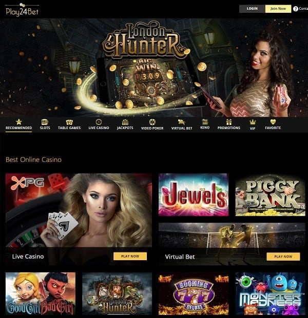 Play24Bet Casino free spins no deposit bonus