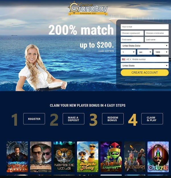 Grand Bay Casino Review