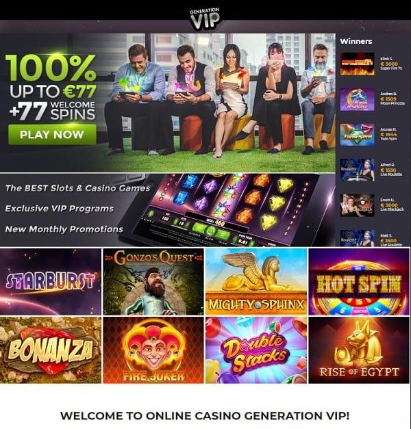 Generation VIP Casino Review