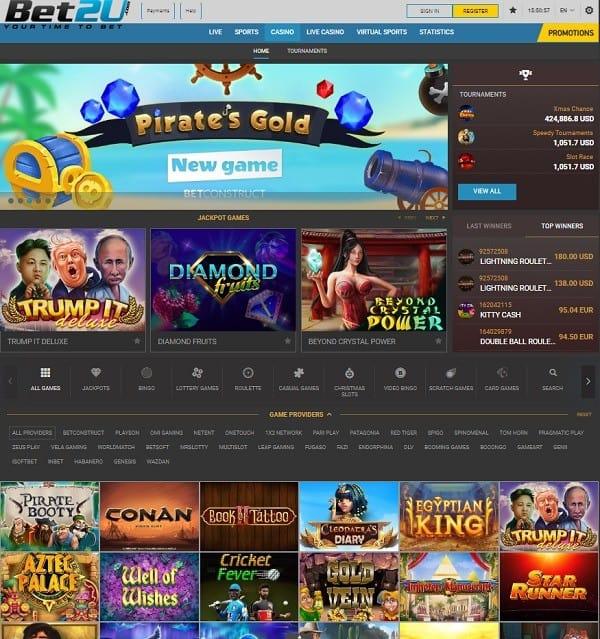 Bet2U Free Play Games