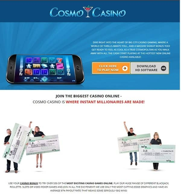 Cosmo Free Spins