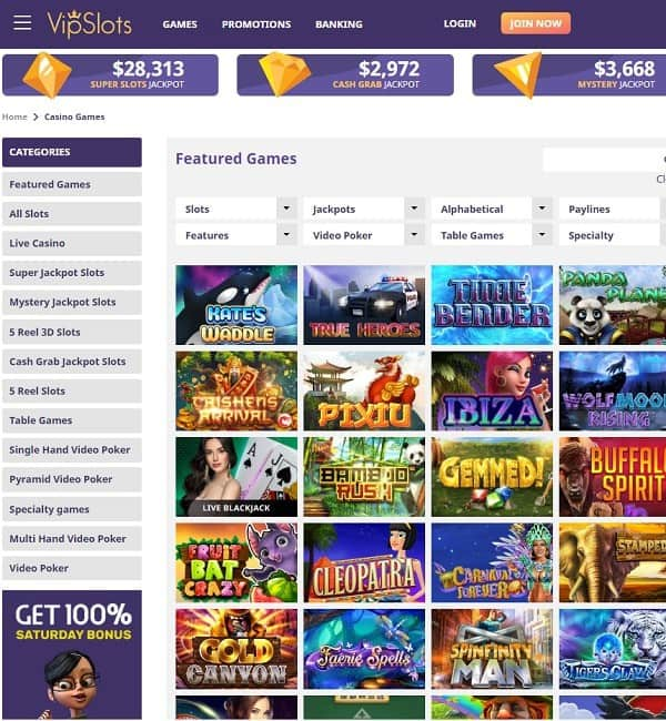 Vip Slots Casino Review