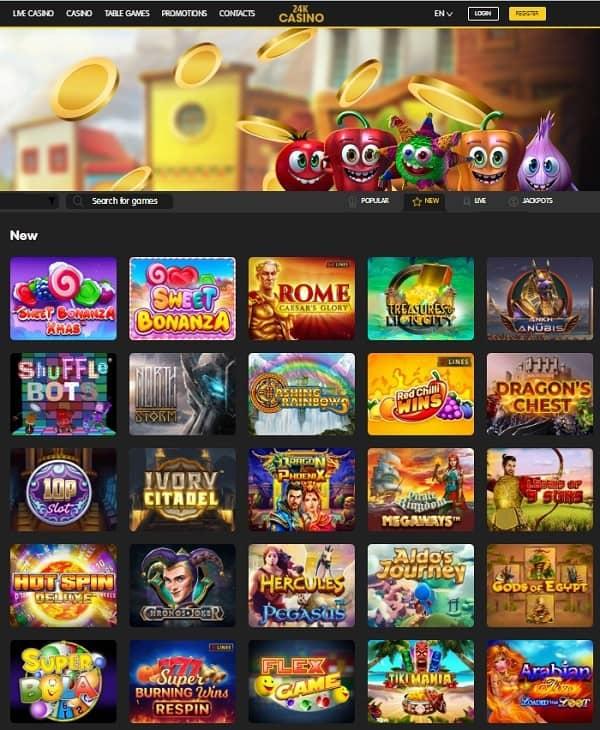 Gratis Spins Bonus Casino 24Casino
