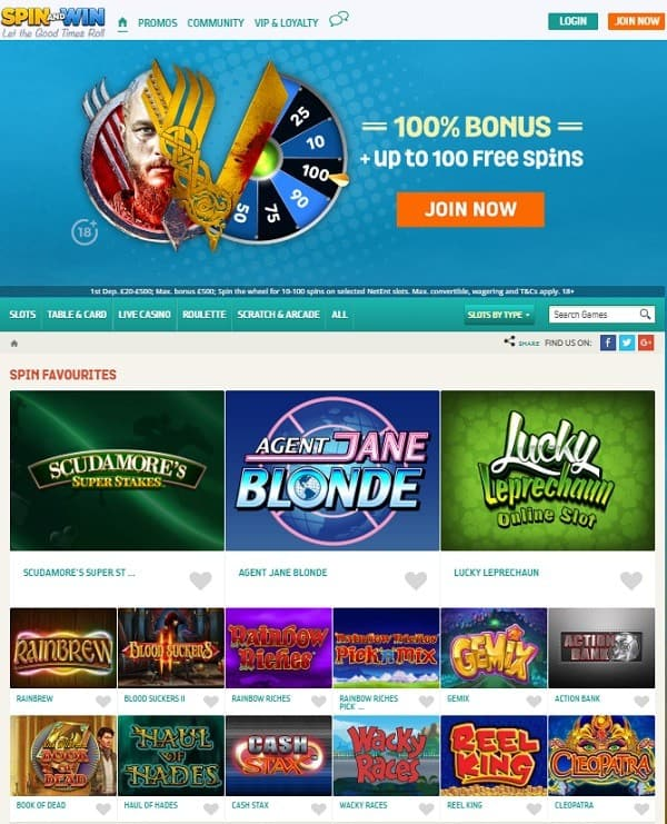 Get 100% welcome bonus and 100 free rounds