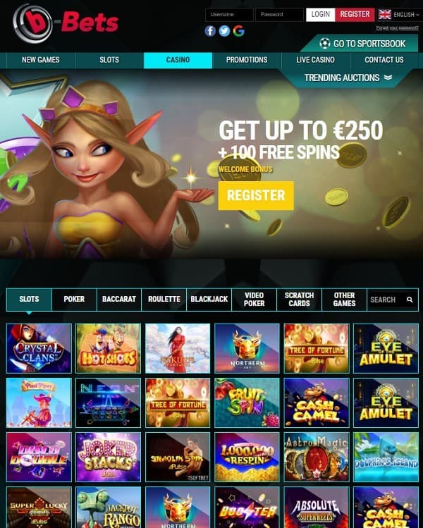 Get 100% welcome bonus and 100 free spins