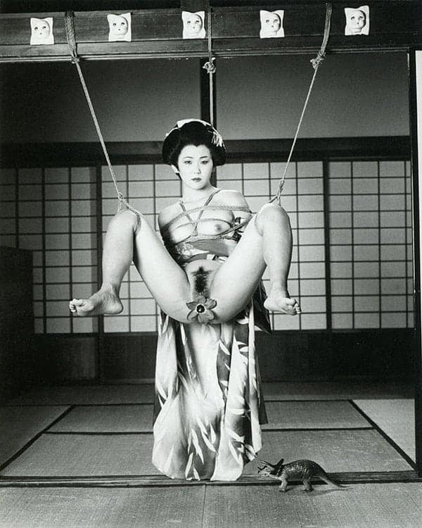 Nude photography. Tokyo Comedy (1997) by Nobuyoshi Araki.