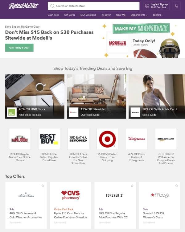 RetailMeNot | US Promo Codes | OPAS Blog