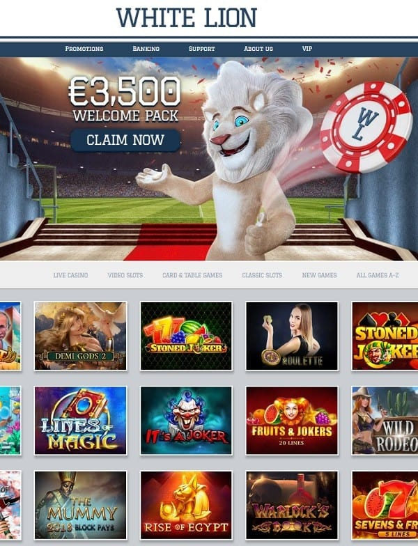 White Lion Casino review
