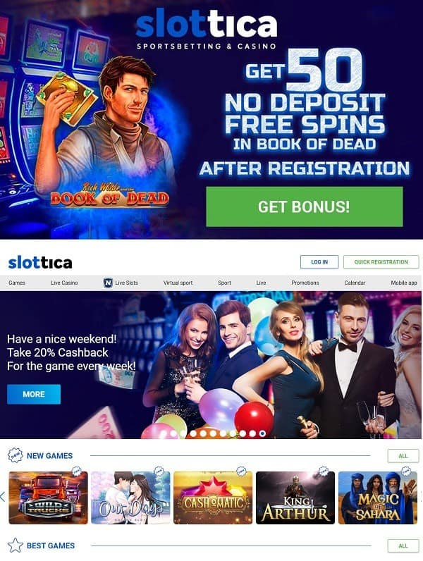 Slottica.com Casino Review