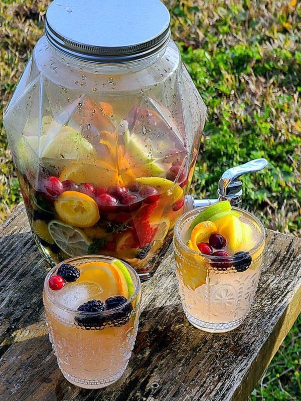 vodka infused fruit drink