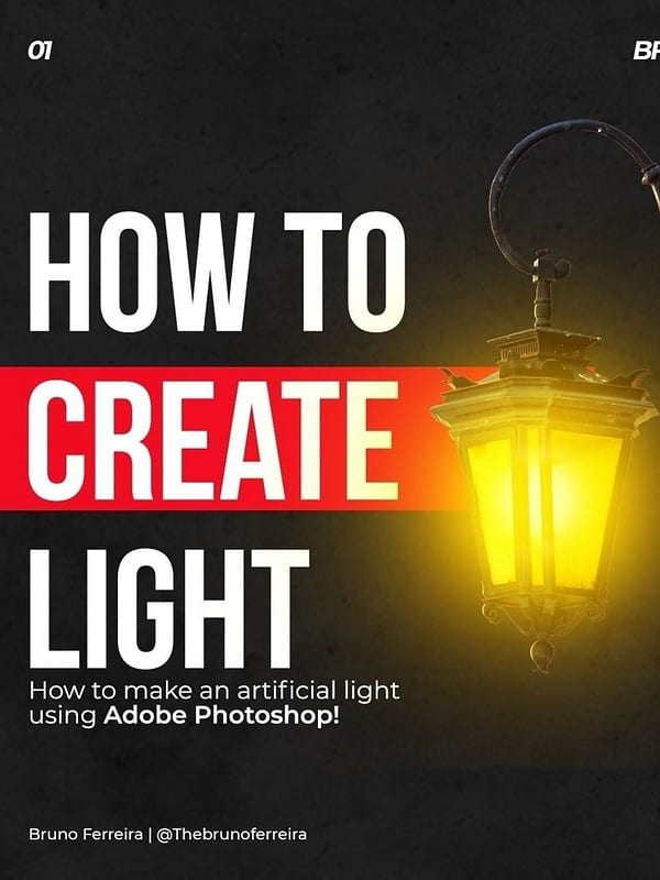 How to Create an Artificial Light Effect!
