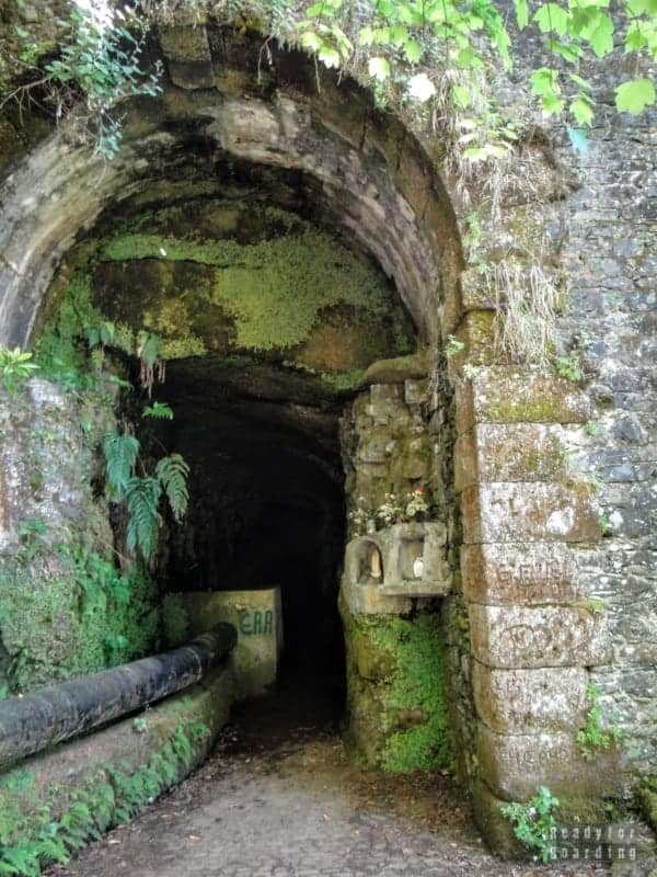 Tunel, Lewady - Madera