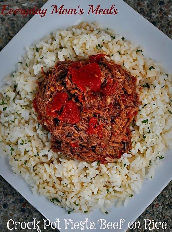 fiesta beef on rice