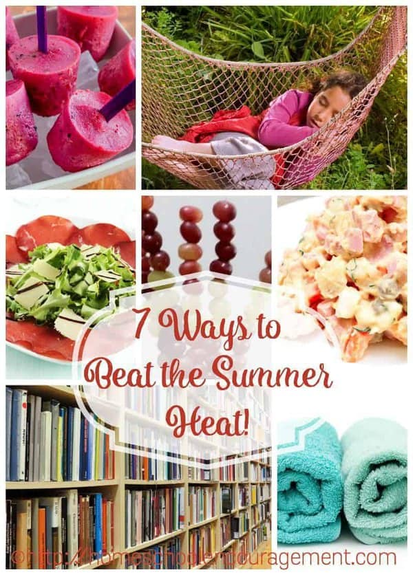 Need to use less water while looking to beat the summer heat? Here are 7 great ways to accomplish both.