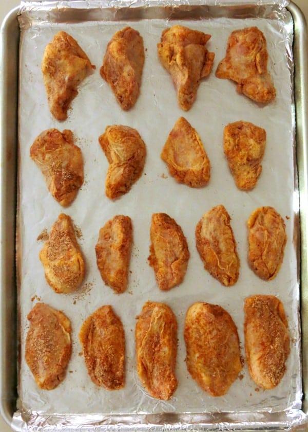 Carolina Reaper Wing Recipe