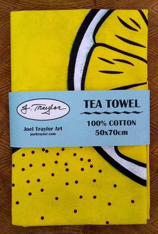 Tea Towel ~ Lemons 1