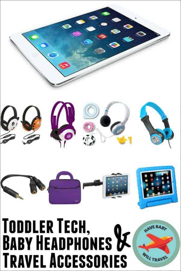 Toddler Tech, Baby Headphones, Travel Accessories