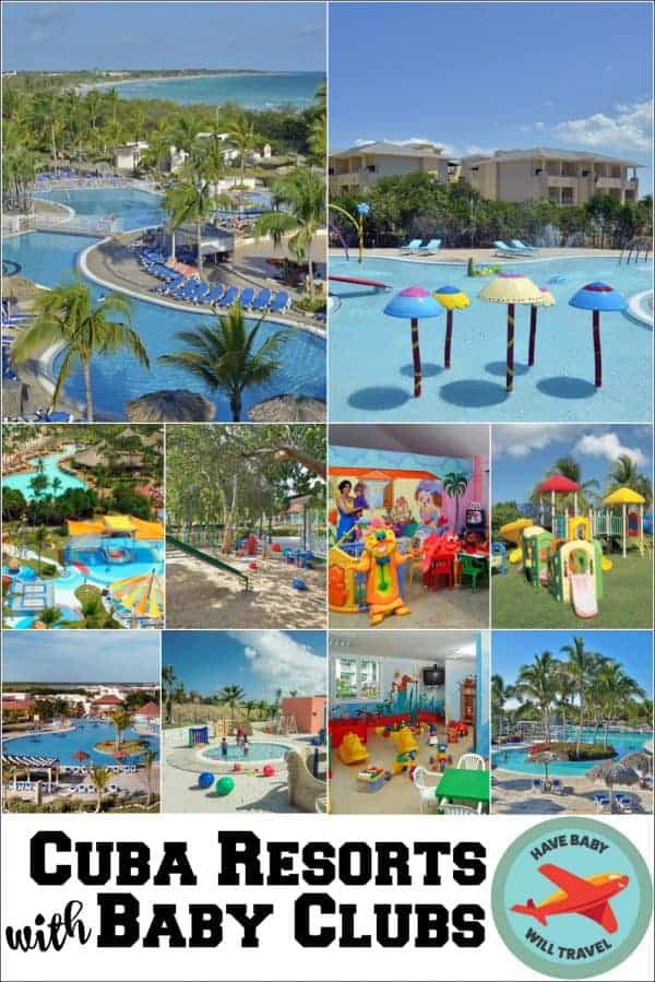 Cuba Resorts with Baby Clubs, Resorts in Cuba with Baby Clubs