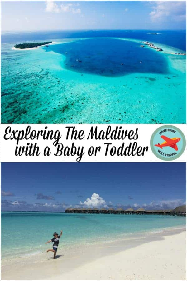 Maldives Family Holiday with a Baby or Toddler