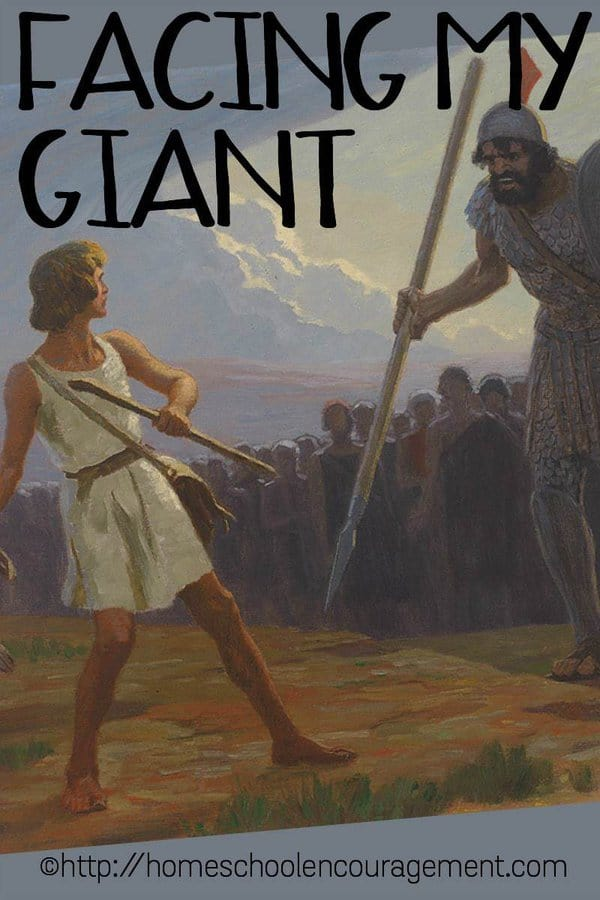 We all have giants in our lives; those things that bring us to a crisis of faith. How do you handle yours? I'd love to share with your how I Face My Giant.