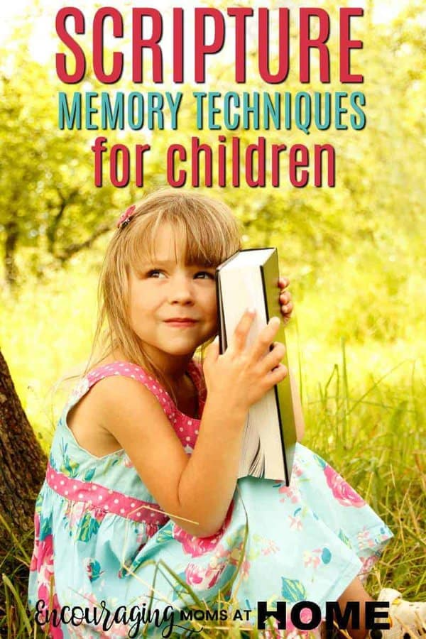 Do you want Scripture Memory to be a priority in your home? Here is a list of Scripture Memory Techniques for your home, and homeschool, that will help you and your kids hide God's Word in your hearts.