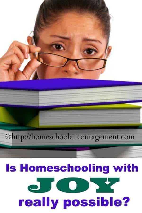 #Homeschool With Joy -- be encouraged #Homeschooling Mom.