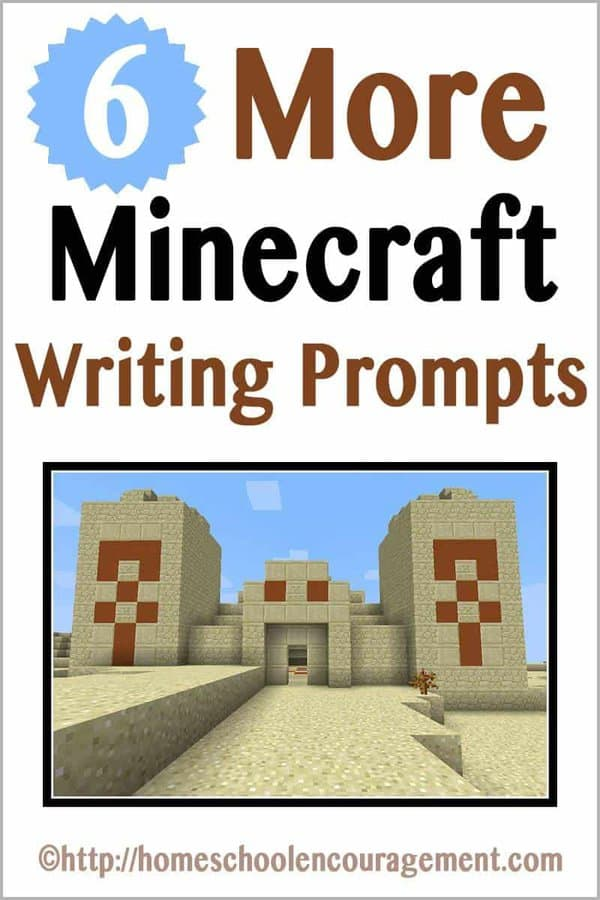 Need a little encouragement for your reluctant writer? Try these 6 Minecraft writing prompts to inspire ideas for journaling, essay writing, and creative story writing.
