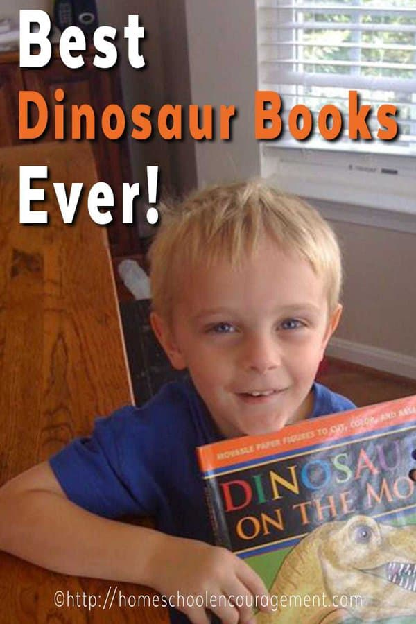 Learning about Dinsaurs in your home or homeschool? Take a look at this collection of the best dinosaur books that your kids are sure to enjoy.