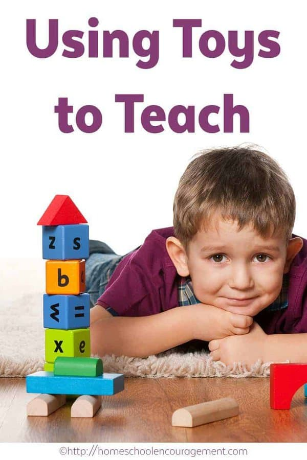 Our kids can learn while playing so why not use toys to teach!? Any time regular schoolwork seems to not be working, or when we just need a change of pace, I look for toys, puzzles, or games that will help. #playingtolearn