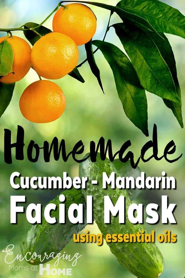 Need a little stress relief? How about a few minutes to relax? Try this cucumber mandarin facial filled with essential oils that give your skin a little tender loving care AND forces you to slow down and relax.