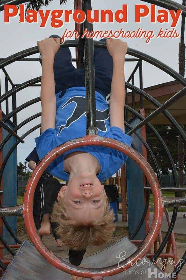 Playground Play Homeschooling Kids