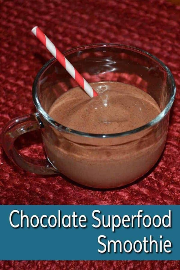 Looking for a yummy yet health smoothie recipe? You can't go wrong with this chocolate superfood smoothie. Even your kids will enjoy this refreshing treat.