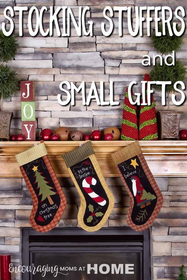 Are you looking for ideas for stocking stuffers that are affordable and useful? Take a look at our list of small gifts that are perfect for a stocking or could even be used for students in your classroom, at church, or in the neighborhood.