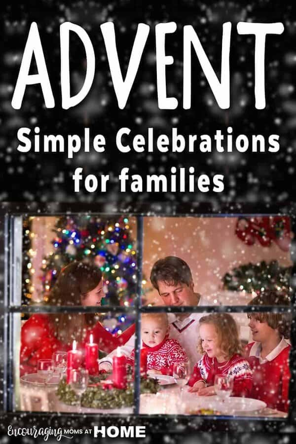 Do you celebrate Advent with your family? Take a look at our suggestions for simple family celebrations that keep your family focused on Christ.