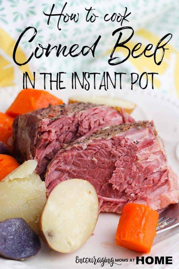 Do you love corned beef and cabbage? Try this instant pot recipe for the New Year, St. Patrick's, or any day of the year.