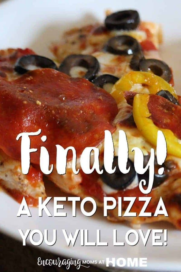 Zero Carb Pizza Crust - Finally a KETO Pizza you will love. Also a THM S Pizza, and Weight Watchers Pizza. Low Carb Pizza Crust that my family came back for more!