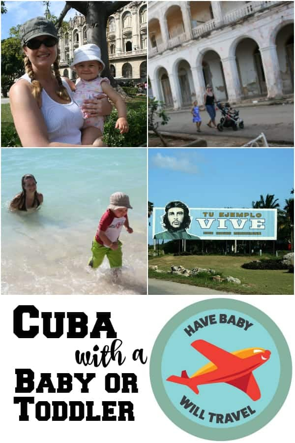 cuba with a baby