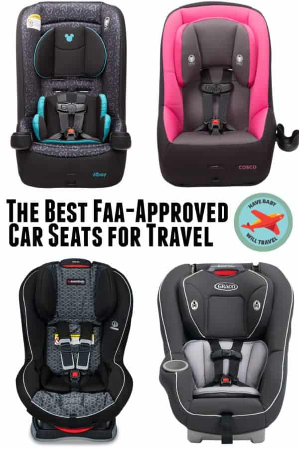 A look at the best FAA-approved car seats for travel