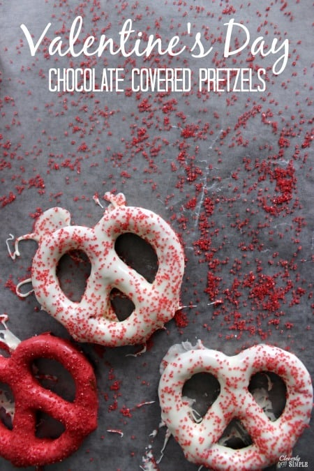 Cholcolate Covered Pretzels