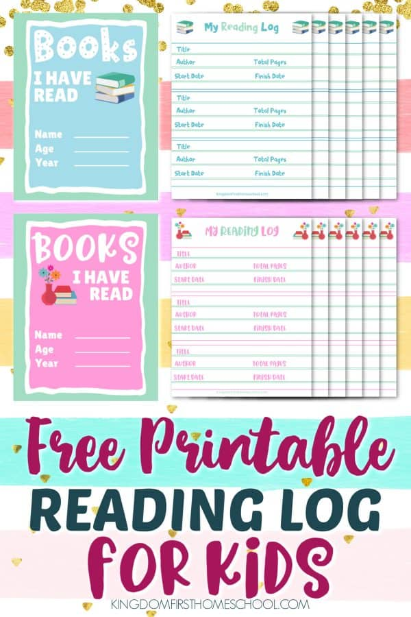 Do your kids read a lot of books in the course of a year? If they are anything like mine they do and they love to keep track. Keeping a reading log book for your kids is ...